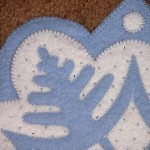 Snowflake #1 Appliqué Detail 3
