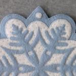 Snowflake #1 Appliqué Detail 1