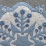 Snowflake 2 Appliqué Detail 1