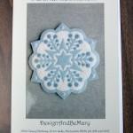 Snowflake 2 Appliqué Pattern