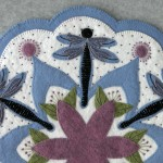 Dragonfly Appliqué Detail 2