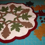 Fall Leaves Full Layout of Ready Appliques