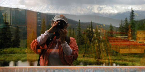 Mary Reflection at Camp Denali
