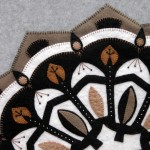 Rose Window Appliqué Detail 1