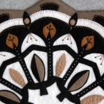 Rose Window Appliqué Detail 2