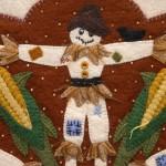 Scarecrow Appliqué Detail 2