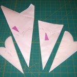 Do's and don't of stapling paper templates for cutting