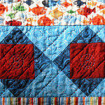 Ok, I have a strange sense of humor - these are quilted pieces of 8!