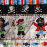 Aren't these little guys cute? Notice the rope quilting...