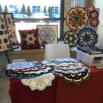 This was my DesignAndBeMary display at the Prior Lake 'Fall in Love with Quilts' show
