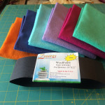 New wool felt colors from National Nonwovens  'Zenergy'