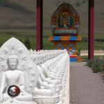Bhuddist peace shrine near Arlee, Montana