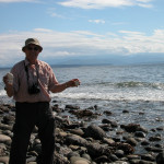 Relaxing by the ocean shore - Whidbey Island' Washington