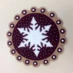 Jean Torgerson's 1st snowflake!