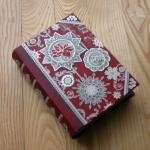 'Book box' found at Tuesday Morning - for storing unused ornaments!