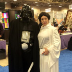 May the force be with you?  Maybe there will be quilting in the far future!