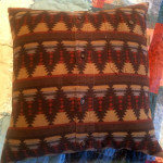 Memory pillow made from my Dad's shirt!