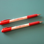 My every ready Fons And Porter marking pencils - one light, one regular pencil color