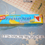 Press N Seal with computer letter pattern