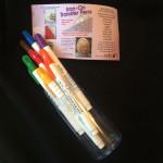 Sulky transfer marking pens