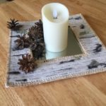 Just another experiment - a birch bark mirror tray!
